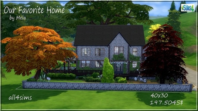 Our favorite home by melaschroeder at All 4 Sims image 12510 670x375 Sims 4 Updates