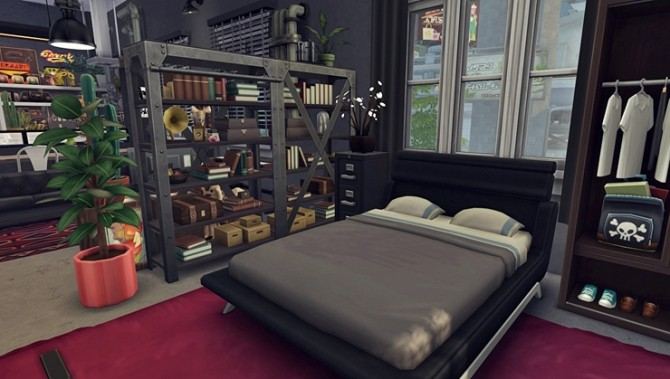 Apartment R003 by Bangsain at My Sims House image 1266 670x379 Sims 4 Updates