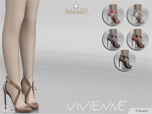 Sims 4 Madlen Vivienne Shoes by MJ95 at TSR