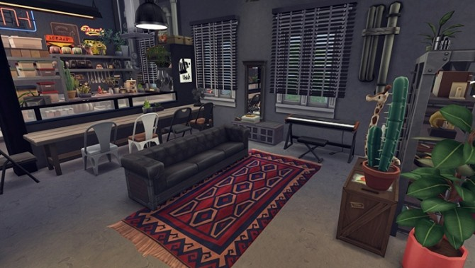 Apartment R003 by Bangsain at My Sims House image 1275 670x379 Sims 4 Updates