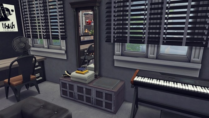 Apartment R003 by Bangsain at My Sims House image 1296 670x379 Sims 4 Updates