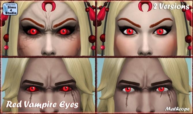 Vampire Eye colors by Mathcope at Sims 4 Studio image 1298 670x397 Sims 4 Updates