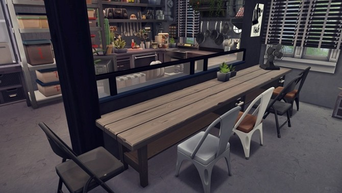 Apartment R003 by Bangsain at My Sims House image 1306 670x379 Sims 4 Updates