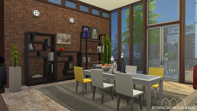 Sims 4 150 Rue des Artistes apartment by Samuel at DH4S