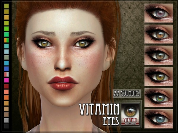 Vitamin Eyes by RemusSirion at TSR image 1330 Sims 4 Updates