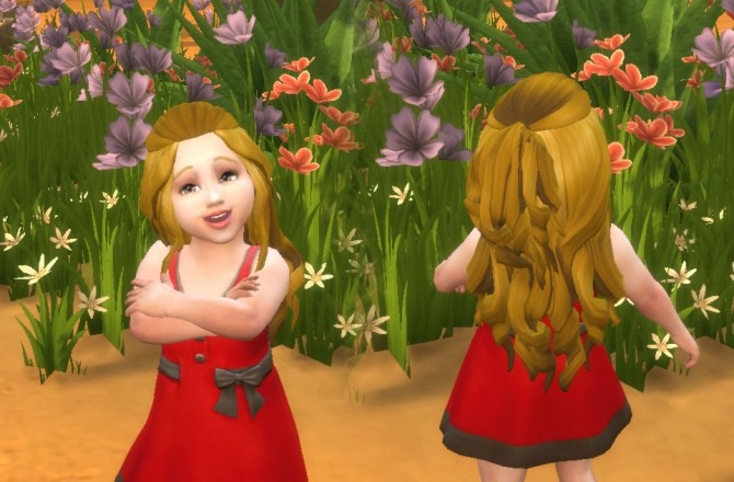 Romantic Hair for Toddlers at My Stuff image 13810 670x440 Sims 4 Updates