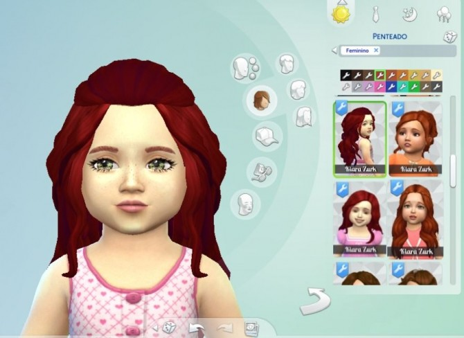 Romantic Hair for Toddlers at My Stuff image 1399 670x488 Sims 4 Updates