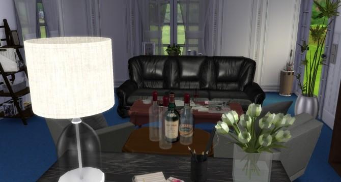 Sims 4 Classy Study at Pandasht Productions
