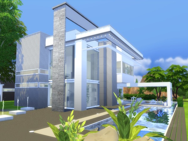 Modern Vita house by Suzz86 at TSR image 14117 Sims 4 Updates
