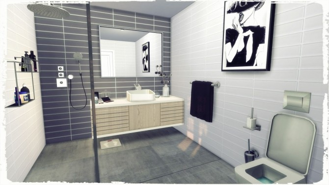 Sims 4 Serenety Bathroom at Dinha Gamer