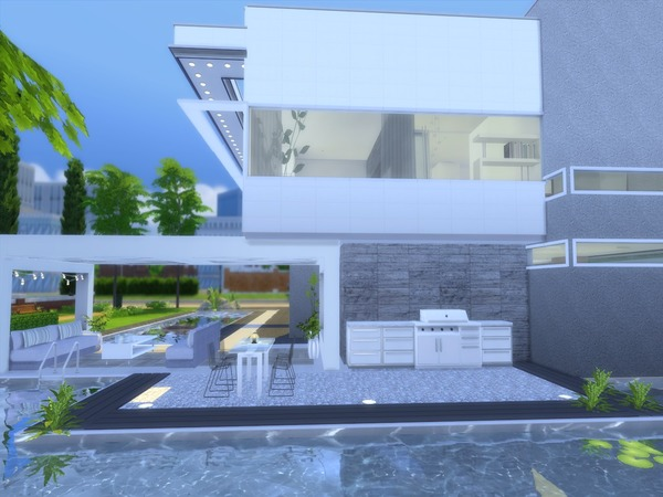 Sims 4 Modern Vita house by Suzz86 at TSR