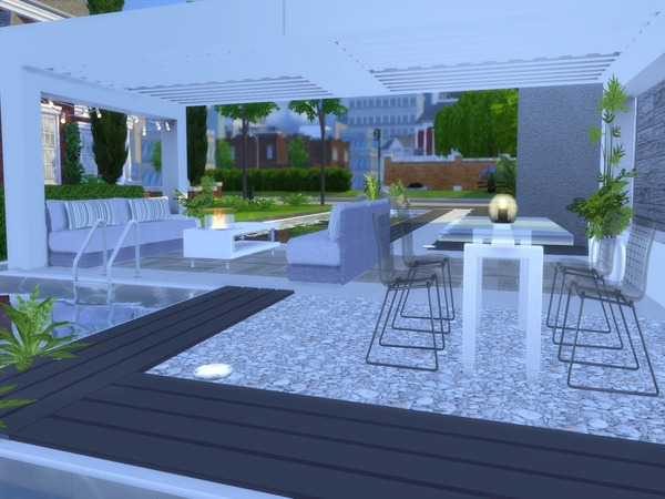 Modern Vita house by Suzz86 at TSR image 14313 Sims 4 Updates