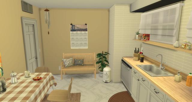 Sims 4 Simple Life Kitchen at Pandasht Productions