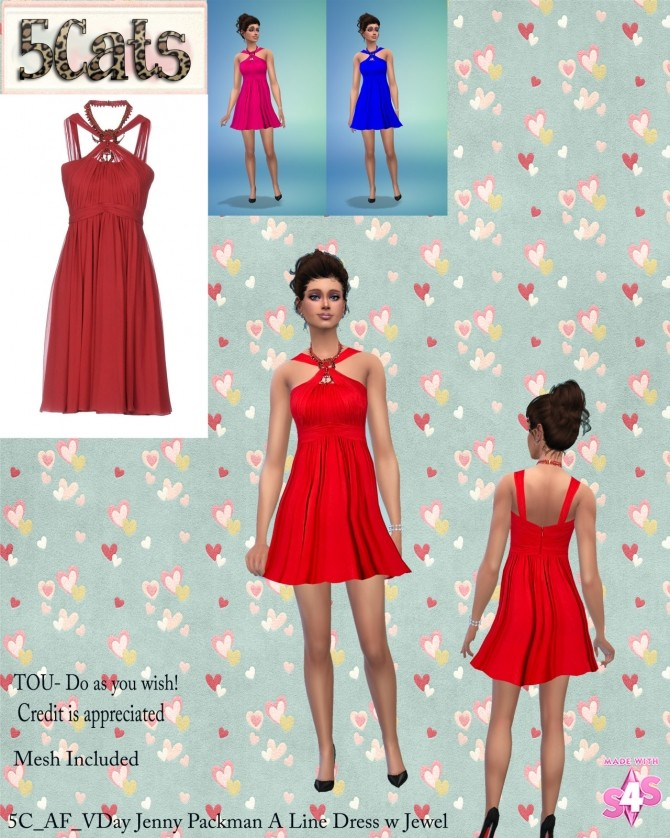 Sims 4 Valentine Day Collection 2017 at 5Cats