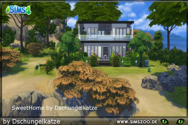 Sims 4 Sweet Home by Dschungelkatze at Blacky's Sims Zoo