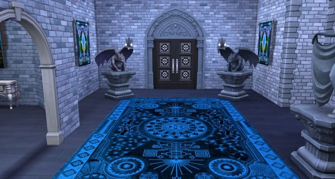 Gothic rugs by ihelen at ihelensims image 1581 670x358 Sims 4 Updates