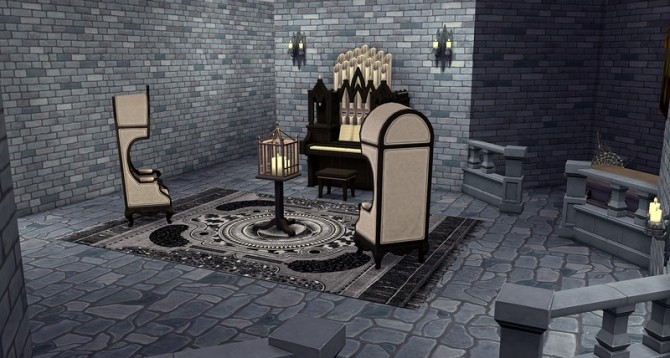 Gothic rugs by ihelen at ihelensims image 1591 670x358 Sims 4 Updates