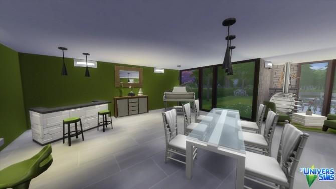 Sims 4 Iris apartment at L'UniverSims