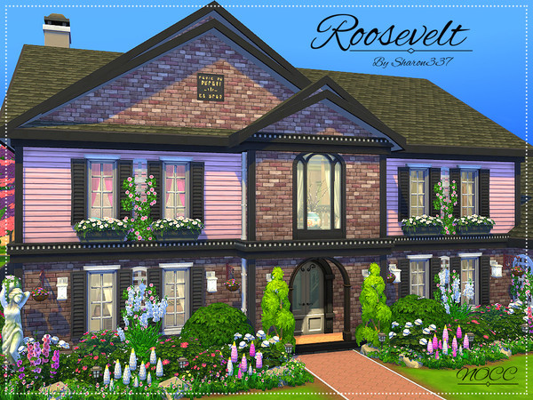 Roosevelt Family Home By Sharon337 At Tsr 187 Sims 4 Updates