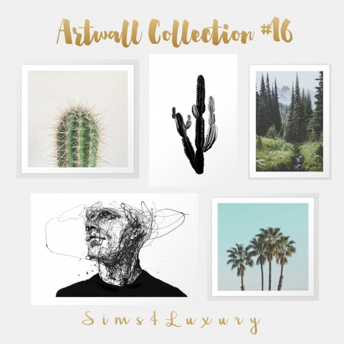Sims 4 Artwall collection #16 at Sims4 Luxury