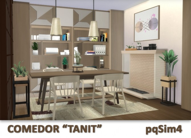 Tanit Dining Room by Mary Jiménez at pqSims4 image 1673 670x487 Sims 4 Updates