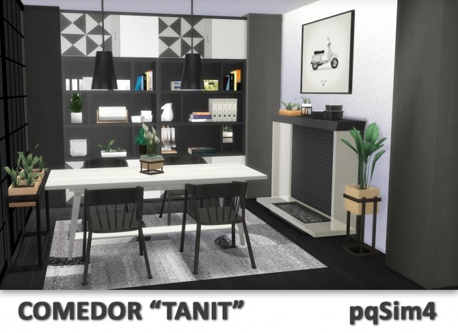 Tanit Dining Room by Mary Jiménez at pqSims4 image 1683 670x487 Sims 4 Updates