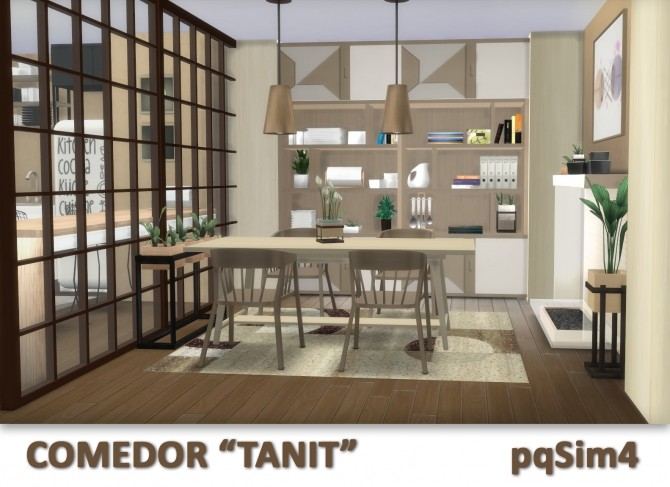 Tanit Dining Room by Mary Jiménez at pqSims4 image 1693 670x487 Sims 4 Updates