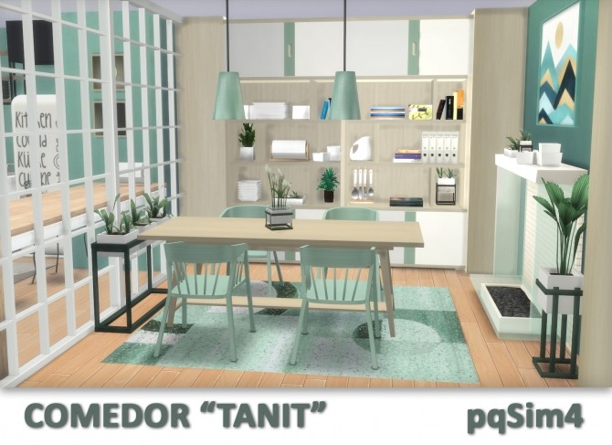 Tanit Dining Room by Mary Jiménez at pqSims4 image 1703 670x487 Sims 4 Updates