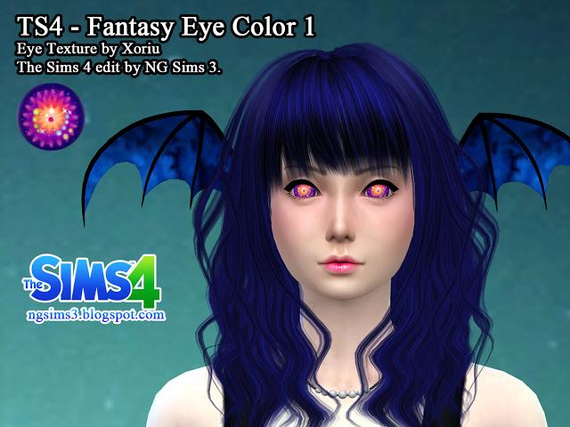 2 Fantasy Eye Colors at NG Sims3 » Sims 4 Updates