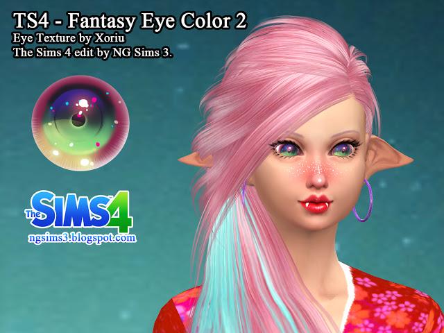 Sims 4 2 Fantasy Eye Colors at NG Sims3