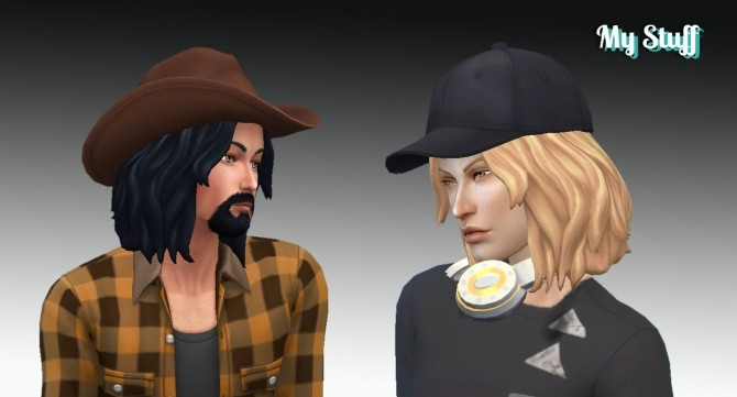 Sims 4 Bucky Hair at My Stuff