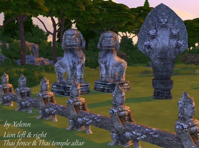 Thai Statue Conversions At Xelenn 187 Sims 4 Updates