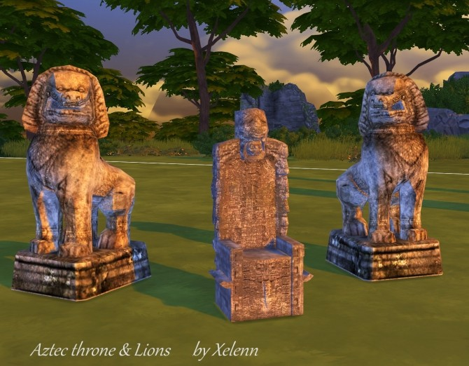 Thai Statue Conversions At Xelenn 187 Sims 4 Updates