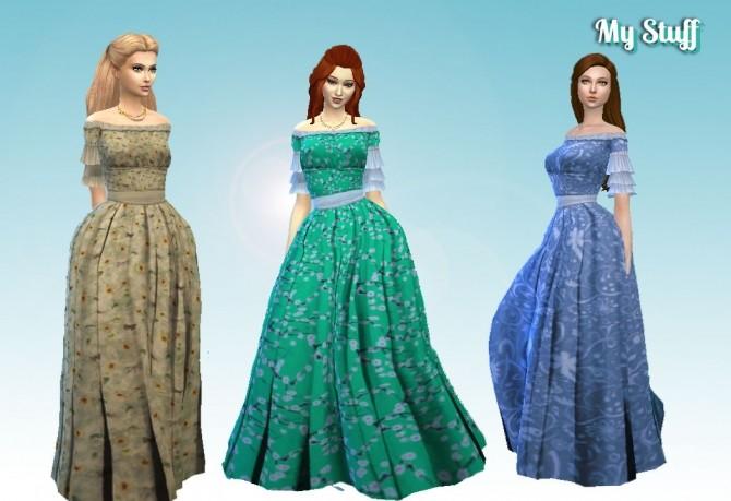 Sims 4 Civil War Fashion Recolor at My Stuff