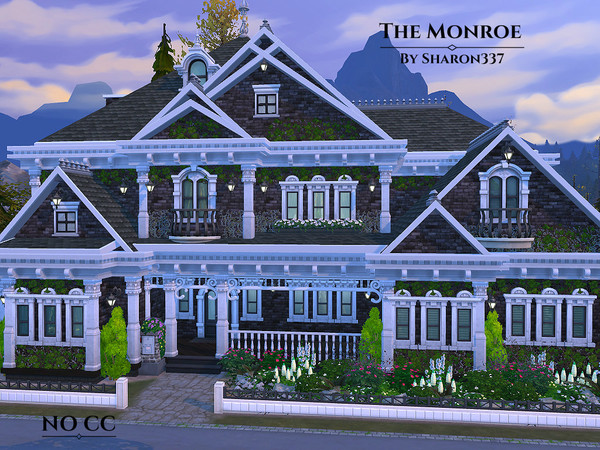 The Monroe house by sharon337 at TSR image 18 Sims 4 Updates