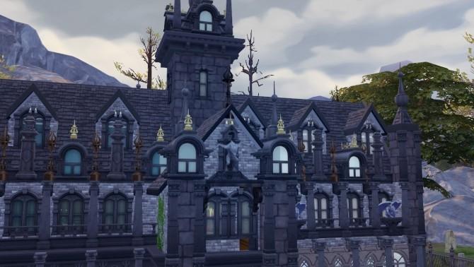 Sims 4 Vampire cathedral at Akai Sims