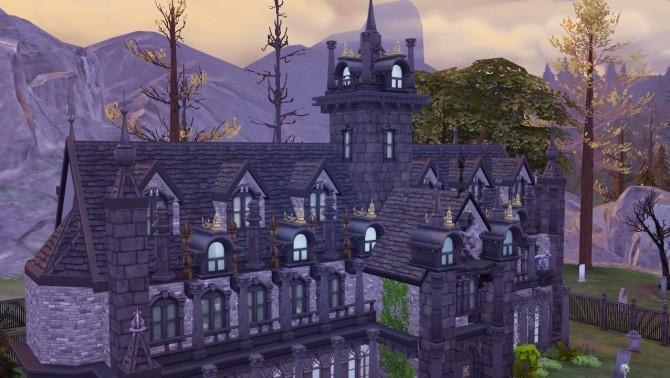 Vampire Cathedral At Akai Sims 187 Sims 4 Updates
