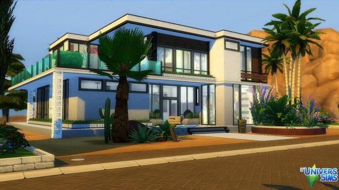 Sims 4 Alegra house by Lyrasae93 at L'UniverSims