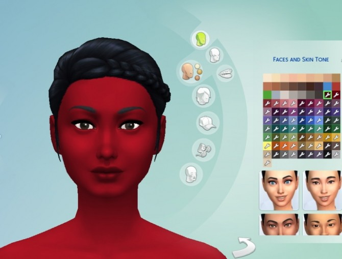 Sims 4 Simsperiences Fresh Skins For All by melissaq64 at Mod The Sims