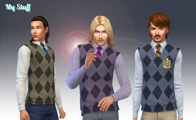 Sims 4 Sweater Vest at My Stuff
