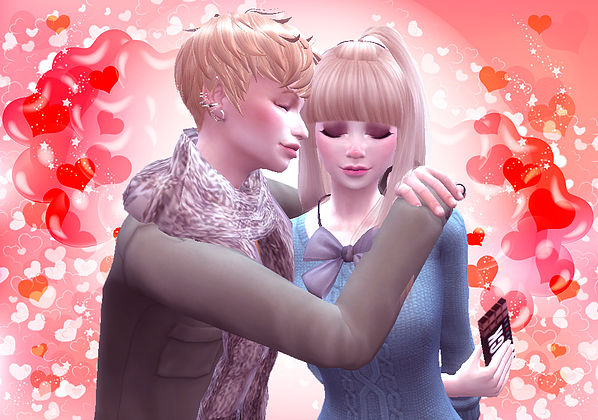Valentine's Day pose 02 at A luckyday image 1924 Sims 4 Updates