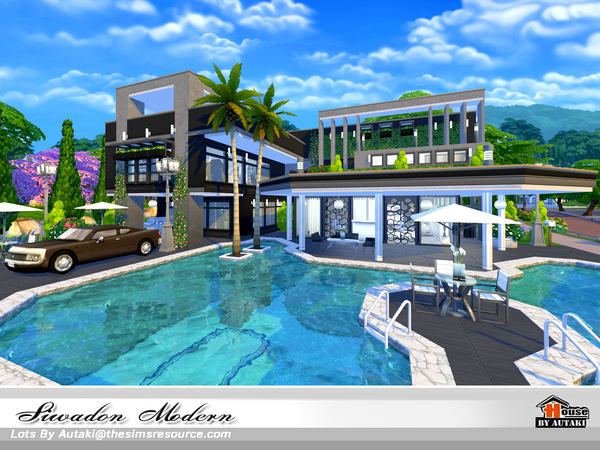 Siwadon Modern by autaki at TSR image 1950 Sims 4 Updates