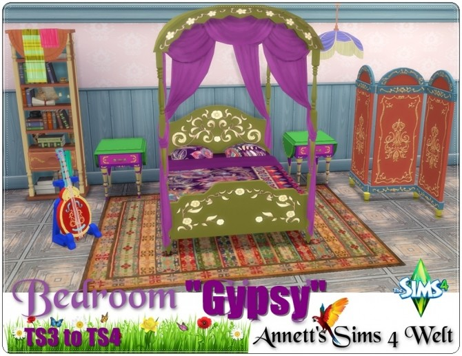 TS3 to TS4 Gypsy bedroom conversion at Annett's Sims 4 Welt image 1986 670x517 Sims 4 Updates