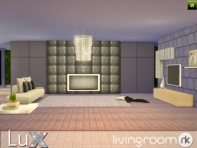 Sims 4 Lux Living at Nikadema Designs