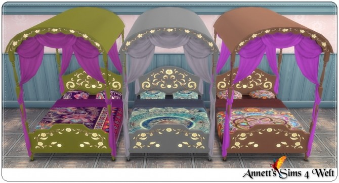 TS3 to TS4 Gypsy bedroom conversion at Annett's Sims 4 Welt image 1995 670x363 Sims 4 Updates
