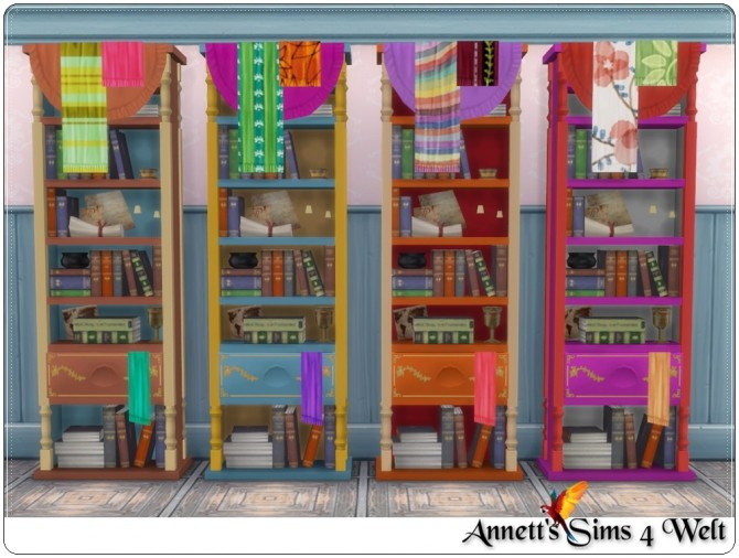 Sims 4 TS3 to TS4 Gypsy bedroom conversion at Annett's Sims 4 Welt