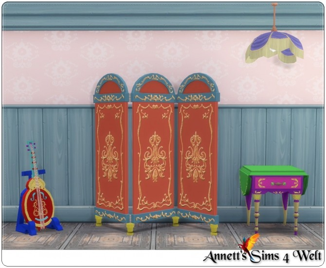 TS3 to TS4 Gypsy bedroom conversion at Annett's Sims 4 Welt image 20111 670x551 Sims 4 Updates