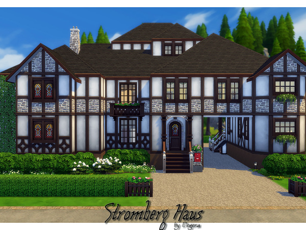 Stromberg house by Degera at TSR image 2028 Sims 4 Updates