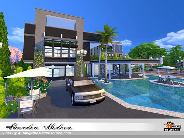 Siwadon Modern by autaki at TSR image 2040 Sims 4 Updates
