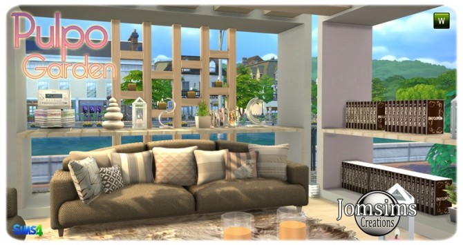 Pulpo Garden set at Jomsims Creations image 2058 670x355 Sims 4 Updates